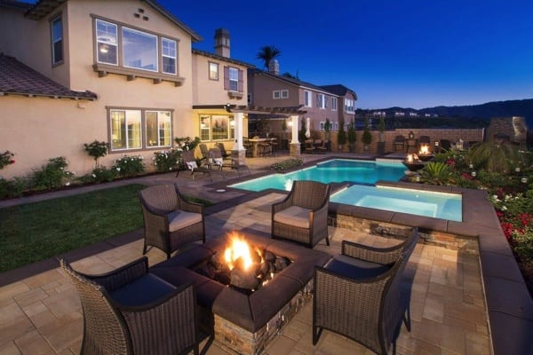 New Pool / Fire Pit