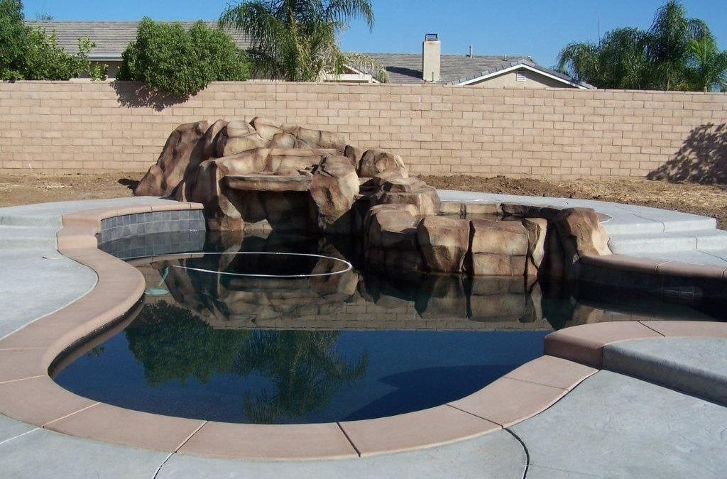New Pool / Waterfall