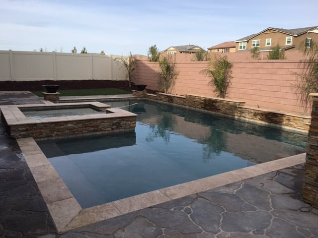 Pool / Spa Under Construction