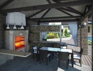 outdoor living outdoor kitchens