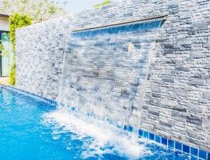 outdoor living water features